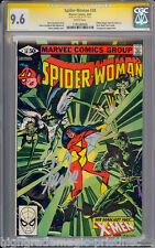 SPIDER-WOMAN #38 CGC 9.6 SIG SERIES STAN LEE WHITE  1 OF 1  CGC # 1191280005