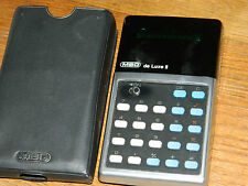 VINTAGE MBO de LUXE II ancien CALCULATRICE Taschenrechner OLD CALCULATOR germany
