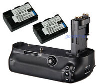 Battery Grip Holder for Canon 5D Mark III 5D3 MK3 5DIII + 2x LP-E6 batteries