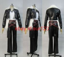 Final fantasy Squall Leonhart FF8 Cosplay Costume Custom Any Size