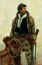 """""""Ready for Hire"""" Don Stivers Limited Edition Western Giclee Print"""