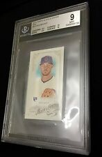 KRIS BRYANT MINT RC 2015 Topps Allen Ginter MINI BGS 9 w TWO 10 SUBS Cubs Rookie