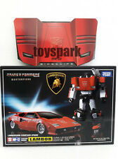 TAKARA TOMY Transformers Masterpiece MP-12 SIDESWIPE Lambor figure with COIN