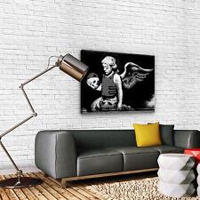 Canvas Poster Foto Bild Wandbild Leinwandbild BANKSY STREET ART ENGEL 3FX2031O1