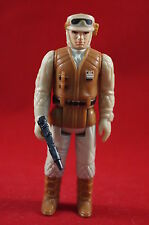 Vintage Star Wars Rebel Soldier Complete Action Figure w/ Weapon & Molded Boots