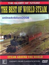 The BEST of WORLD STEAM TRAINS Classic LOCOMOTIVES - Documentary DVD NEW SEALED