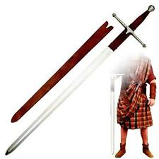 "Braveheart Sir William Wallace 51"" Sword with Sheath Collectible - Brown Handle"