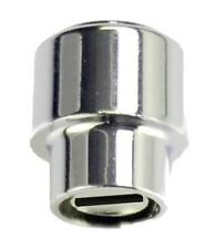 CHROME BARREL KNOB SWITCH SELECTOR TIP FOR FENDER TELE TELECASTER GUITAR & OTHER