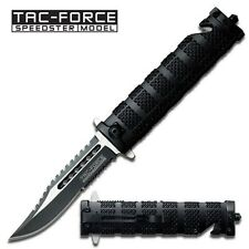New In Box TAC-FORCE TF-710BK Spring Assisted Opening First Responder Folder
