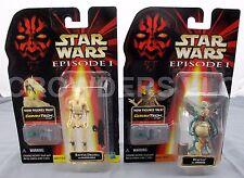 """Star Wars Episode 1 Watto w/ Datapad & Battle Droid CommTech Figures 3.75"""" NIP"""
