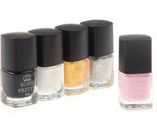5Pcs/set Born Pretty Nail Art Stamping Polish Nail Palisade Latex Manicure Set