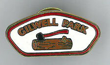 UK / BRITISH SCOUTS - SCOUT LEADER WOODBADGE CENTRE GILWELL PARK METAL PIN BADGE