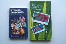 United States Postal Service Stamps & Stories & Guide To US Stamps Books