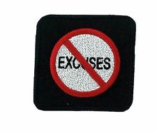 Patch backpack No excuses biker morale army infidel us military tactical
