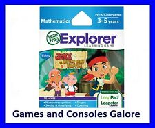 NEW Leap Pad, Leapster Explorer LeapPad Game Jake and the Never Land Pirates