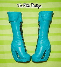 EVER AFTER HIGH FAYBELLE THORN DOLL OUTFIT REPLACEMENT TALL BOOTS SHOES ONLY