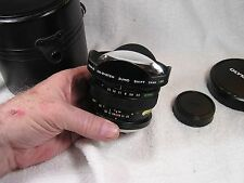 Olympus Zuiko 24mm f/3.5 OM-System Shift Lens with Leather Case - XF