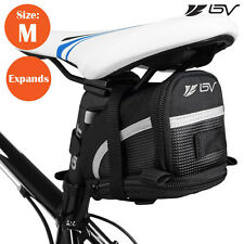 BV Bike Saddle Bag, Bicycle Rear Storage, Medium Tail Seat Pouch NEW BV-SB1-M