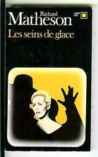LES SEINS DE GLACE by Richard Matheson, rare French crime pulp vintage pb