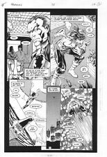 Hawkman #30 p.17 - Hawkman Possessed - 1996 art by Anthony Castrillo
