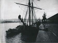ROUEN c. 1900-20 -  Les Quais  Bateaux à Voiles  Seine Maritime  Div 7180