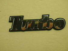RENAULT R11 R-11 Turbo Chrome Emblem for Turbo -NEW- #832