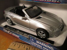 SCALE 1/43 SILVER MERCEDES BENZ SLK 350(2005) CONVERTIBLE