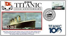 RMS TITANIC 100th ANNIVERSARY OF SINKING SOUV COVER 3