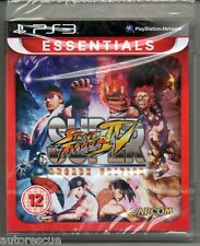"Super Street Fighter IV (4) Edición De Arcade ""Nuevo y sellado"" Free P&P * PS 3 *"