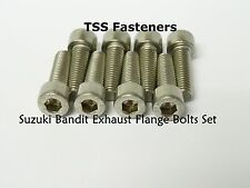 Suzuki GSF600/GSF1200/GSF1250 Bandit Exhaust Flange Bolts Set - Stainless Steel