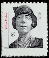 "2003 83c Edna Ferber ""2003"" Date, Author Scott 3434 Mint F/VF NH"