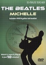 10 Minute Teacher The Beatles Michelle Learn to Play Lesson TAB Guitar DVD