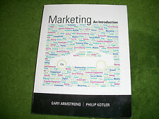 Marketing: An Introduction by Gary Armstrong, Kotler 12th edition 12e Book NEW