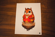 Chipmunk With Hat And Jacket Mike Mitchell Rare Sold Out