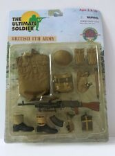 "ULTIMATE SOLDIER  BRITISH 8TH ARMY 1:6 SCALE 12"" ACTION FIGURE"