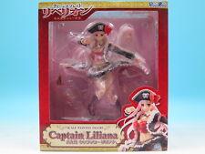 Queen's Blade Rebellion Captain Liliana PVC Figure Penguin Parade