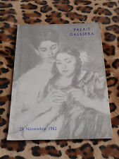 Catalogue de vente - Palais Galliera, Me Rheims - Tableaux modernes, 29/11/1962