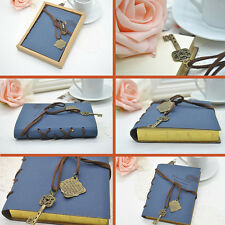 Vintage Notebook Diary String Travel Leather Paper Journal Book Sketchbook RF