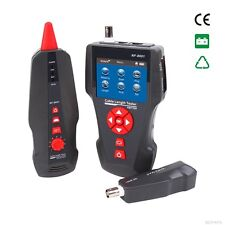 Network Wire Tracker Cable Tester RJ45 RJ11 BNC POE PING, NF-8601