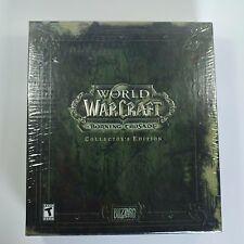 NEW Factory Sealed World of Warcraft: The Burning Crusade Collector's Edition