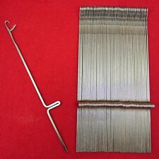 Neu 50 Nadeln für Strickmaschinen Brother KR260 Knitting Machine Needles