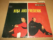 "NINA AND FREDERIK ""MAN MAN IS FOR WOMAN MADE "" 7"" EP SEG 8092 EX/G"
