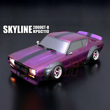 ABC Hobby NISSAN Skyline 2000GT-R KPGC110 200mm Body RC Car Touring Drift #66162
