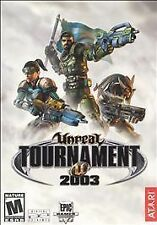 Vintage PC game - Unreal Tournament 2003 Atari Video Game for Win98/XP