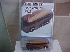 Hot Wheels #1 Gold Internet VW Drag Bus
