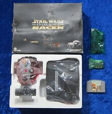Nintendo 64 Konsole Limited Edition Set - Star Wars Racer Episode I Spiel, OVP