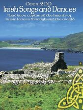 Over 200 Irish Songs and Dances Sheet Music P V G Edition Book NEW 014024384