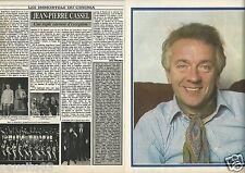 Coupure de presse Clipping 1984 Jean-Pierre Cassel  (4 pages)