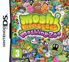 moshi monsters moshling zoo ds