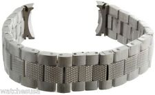 21mm Zenith Defy Stainless Steel  Men's Watch Band Bracelet - New